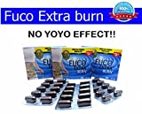 6 X Fuco Extra Burn Block Fat Burning Weight Loss Slimming Pills Made in Usa