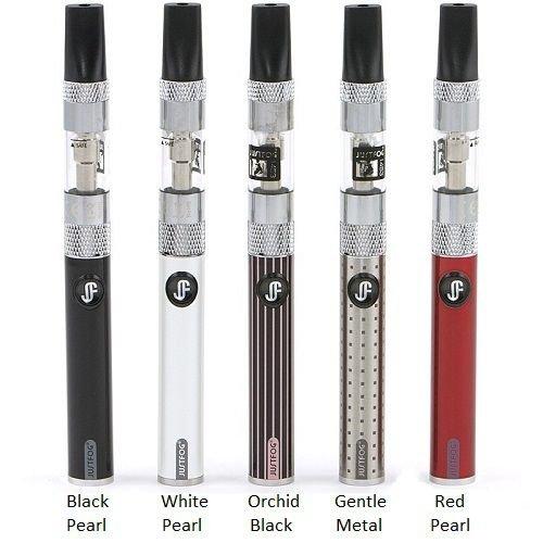 Justfog 1453 Ultimate Kit Premium Pass Through Disponibile versione da 650 e 900 mah Colore Black Pearl Nero Prodotto Senza Nicotina