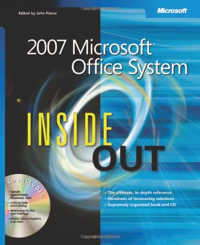 2007 Microsoft Office System Inside Out