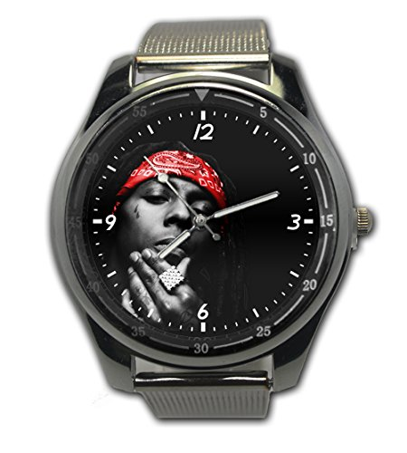 Lil Wayne Free Weezy Image Snap On Watch Stainless Steel