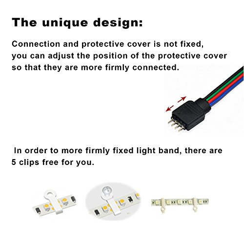 Led striptenlion 5050 led strip lightsrgb led strips lighting full led striptenlion 5050 led strip lightsrgb led strips lighting full kit 44 key ir remote12v uk charger built in ic and fusepower supply mozeypictures Image collections