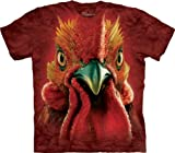 51yOlwcmr9L. SL160  Realistic 3D Farm Animal Face T Shirts by The Mountain
