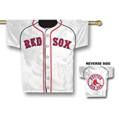 Boston Red Sox MLB 2 Sided Jersey Banner  by Fremont Die