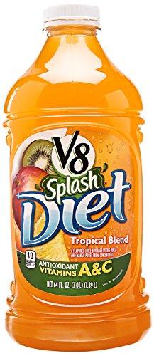 V8 Splash Diet Tropical Blend, 64 Oz front-412770