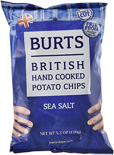 Burt's Potato Chips, Sea Salt, 5.3 Ounce (British Vegetarian compare prices)