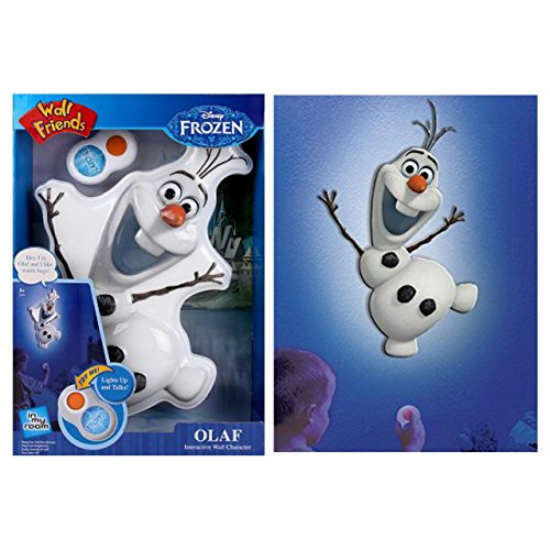 Disney Frozen Olaf Wall Decal Night Light with Remote