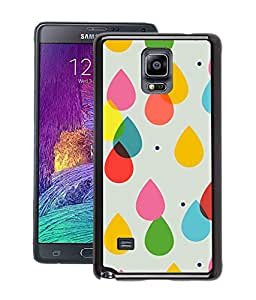 Crazymonk Premium Digital Printed Back Cover For Samsung Galaxy Note 4
