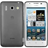 Mumbi X-TPU Protective Phone Case for Huawei Ascend G510 Transparent Black