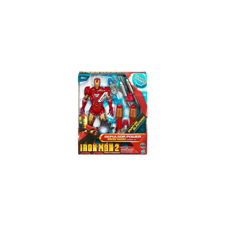 Iron Man New Repulsor Power Iron Man on PopScreen