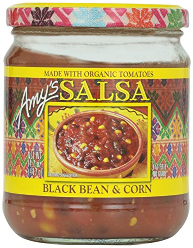 Amy's Organic Black Bean & Corn Salsa (Black Bean And Corn Salsa compare prices)