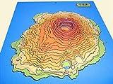 手作り立体地図三宅島