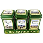 The Connemara Kitchen Set Of Tin Tea, Breakfast,Afternoon & Green Tea