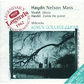 Haydn: Nelson Mass / Vivaldi: Gloria in D / Handel: Zadok the Priest