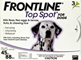 Merial Frontline Top Spot Flea and Tick Control for 45-to-88-Pound Dogs and Puppies, 3 Doses