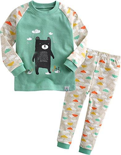 vaenait-baby-kinder-jungen-nachtwasche-schlafanzug-top-bottom-2-stuck-set-bear-friend-xl