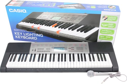 Casio LK-240 61 Key Piano Style Lighted Touch Response Keyboard with 400 Tones