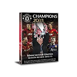 Manchester United Champions 2013 Season Review DVD