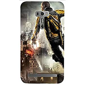 Asus Zenfone Selfie Fun Doodles Printed back cover