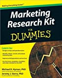 img - for Marketing Research Kit For Dummies (text only) by M.Hyman PhD.J.Sierra PhD book / textbook / text book