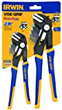 Irwin Tools 1802532 Vise-Grip 2-Piece Groovelock Straight Jaw Pliers Set