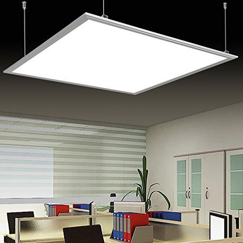Anten® 40W 3200LM LED Panel Light lampada da parete bianco caldo 3000-3500K Lampada a sospensione con SMD2835* 168leds materiale di fissaggio incluso moderno silber 3