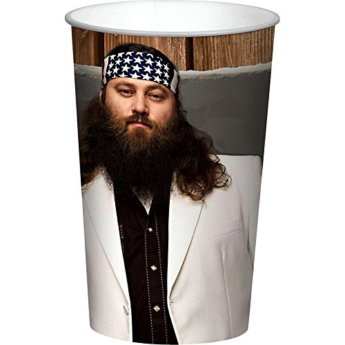 Duck Dynasty Willie 22Oz Cup (Each) - Party Supplies