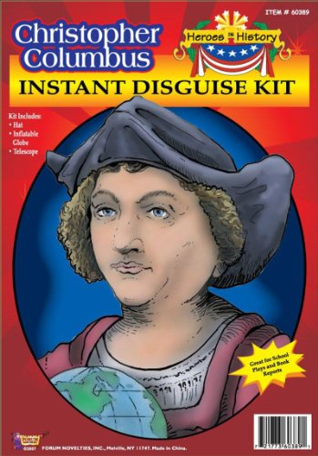 Forum Novelties Men's Heroes in History - Christopher Columbus Accessory Kit