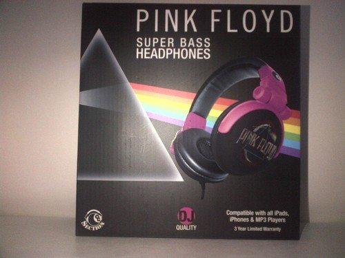 Price Point Accessories Llcrbh6731 Pink Floyd Super Bass Dj Headphones - Black/Gray