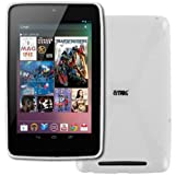 EMPIRE Google Nexus 7 Poly Skin Case Cover, White Type X