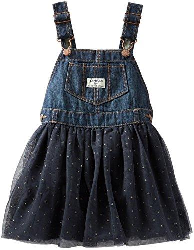 OshKosh B'gosh Baby Girls' Print Tulle Jumper (Baby) - Blue/Dots - 3 Months