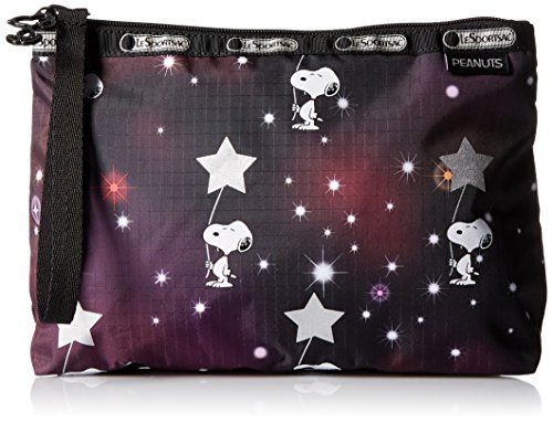 lesportsac-peanuts-x-essential-wristlet-snoopy-in-the-stars
