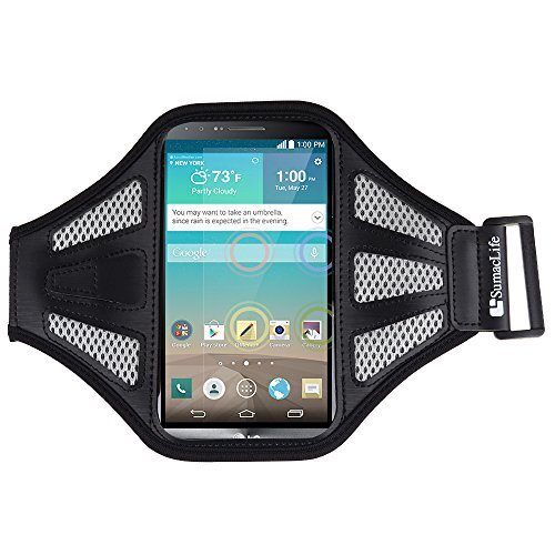 Sumaclife Active Sport Lg G3 Armband 2014 Smartphone (At&T, T-Mobile, Sprint, Verizon) (Gray / Black)
