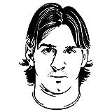 Leonel Messi Decal (Black)