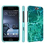 HTC One A9 Case, DuroCase ® Hard Case Mint for HTC One A9 (Released in 2015) - (Jade Marble)