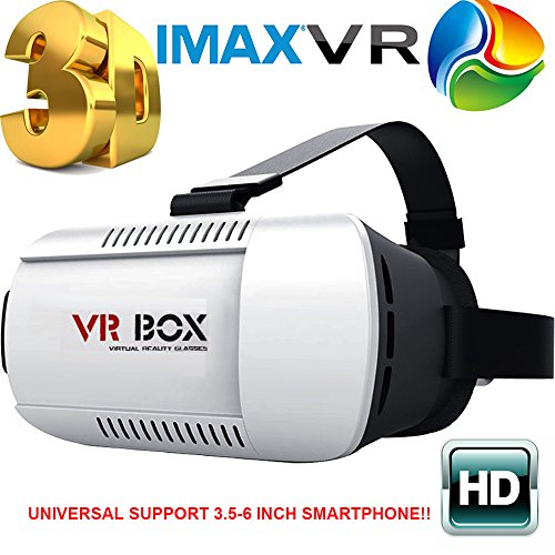 Fantastic Deal! SINST Vr Box 3D Glasses VR Virtual Reality 3D Video Glasses Helmet Headset Adjust Ca...