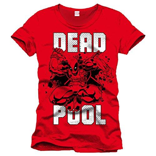 Unknown -  T-shirt - Stampa  - Maniche corte  - Uomo Red X-Large