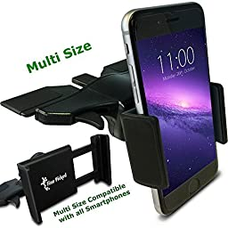 (50% OFF) Fine Picked - CD Slot Car Mount - iPhone, iPod, Samsung, LG, Nexus, HTC, Motorola, Sony and Other Smartphones.