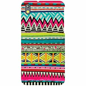 HTC Desire 816G Back cover - Pattern Art Designer Cases
