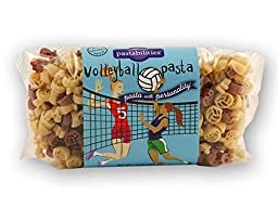 Pastabilities Volleyball Fun Novelty Pasta, 14 Oz. Bag, (Pack of 4)