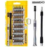 Screwdriver Set, Magnetic Driver Kit, 60 in 1 with 56 Bit Precision Screwdriver Set for iPhone, Xbox, Tablet, PC, Macbook, Electronics Repair Tool Kit