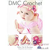 Baby Hat and Booties DMC Crochet Pattern 14891L2