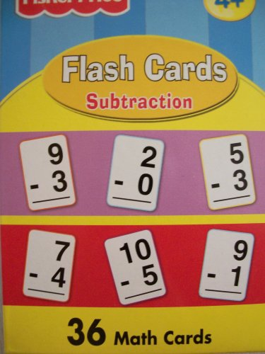 FLASH CARDS SUBTRACTION (Fisher Price Math Flash Cards compare prices)
