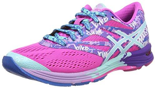 ASICS Gel-Noosa Tri 10 - Scarpe da corsa da donna, colore rosa, taglia 41.5