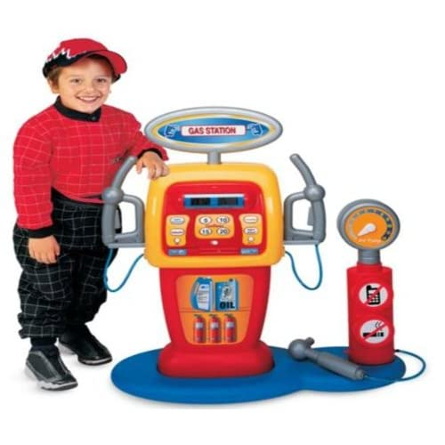 Amazon.com: KIDS POWER WHEELS RIDE ON TOY GAS STATION FUEL SERVICE W