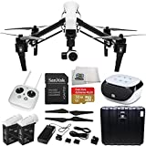 DJI Inspire 1 EVERYTHING YOU NEED Kit. Includes SanDisk Extreme Plus 32GB UHS-I/ U3 Micro SDHC Memory Card (SDSDQX-032G-U46A) + DJI TB47 Intelligent Flight Battery + DJI 1345 Self-Tightening Props + High Speed Memory Card Reader + Microfiber Cleaning Cloth + SSE FURY SPEAKER