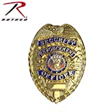Rothco Security/Enforcement Deluxe Badge, Gold
