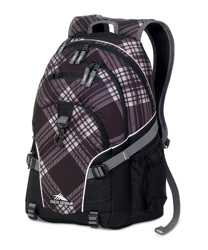 High Sierra Backpack 8 5 Inch Plaid