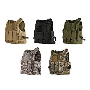 JNTworld Tactical Assault Airsoft Combat Molle Military Army Bulletproof vest from JNTworld