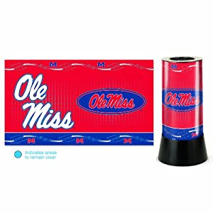 Buy NCAA Mississippi Rebels Rotating Lamp by WinCraft