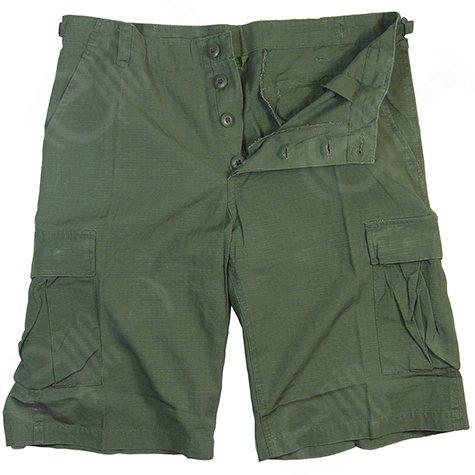 fashion-review-short-cargo-militaire-prelavage-serre-pantalon-vert-olive-vert-xl